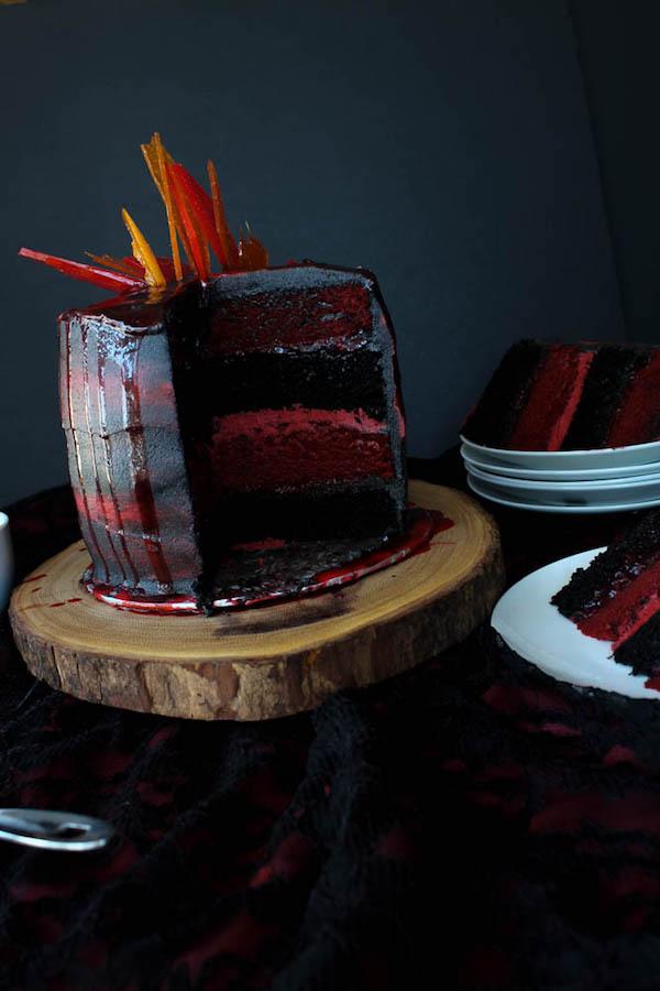 Game of Thrones Targaryen Layer Cake!
