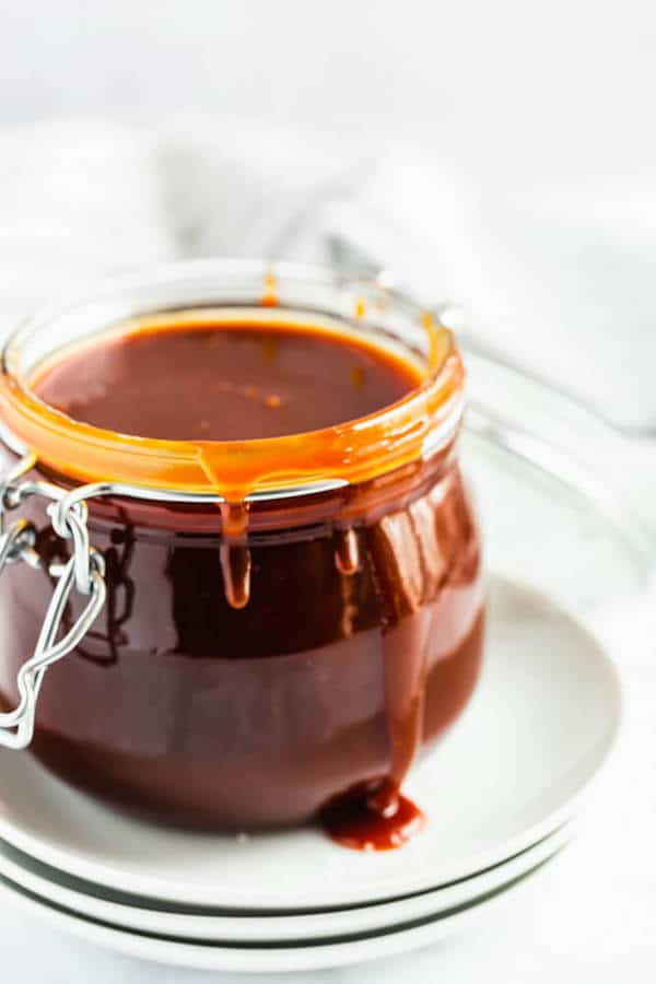 salted caramel sauce made from scratch