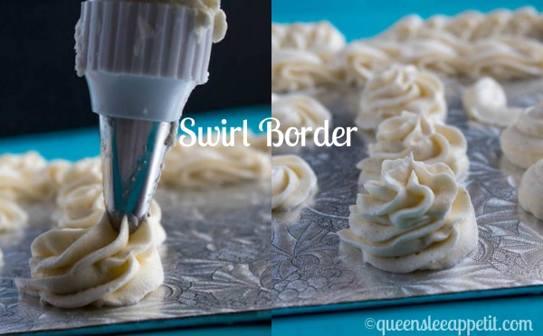 If you're a cake decorating newbie, this is the perfect tutorial for you! I'm a self-taught home baker and not a professional in any way, but with some research and practice I've taught myself many new skills, for example: How to pipe cake borders!