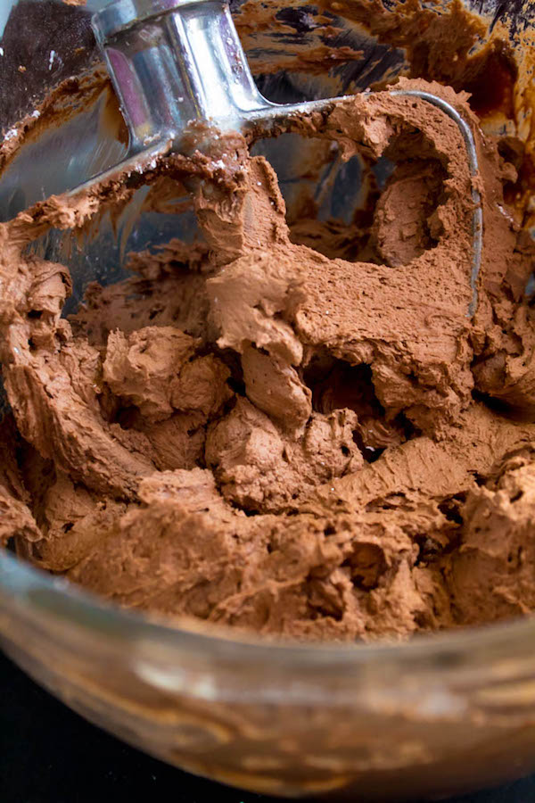 A light, fluffy, silky and dreamy Chocolate Buttercream Frosting. Perfect for frosting cakes, cupcakes, and more!