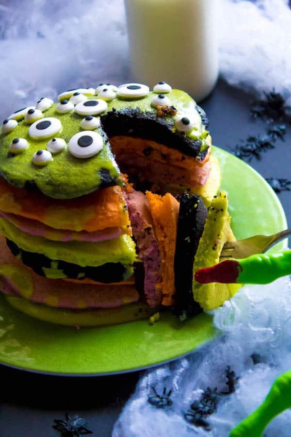 Halloween Pancakes Recipe Queenslee App 233 Tit