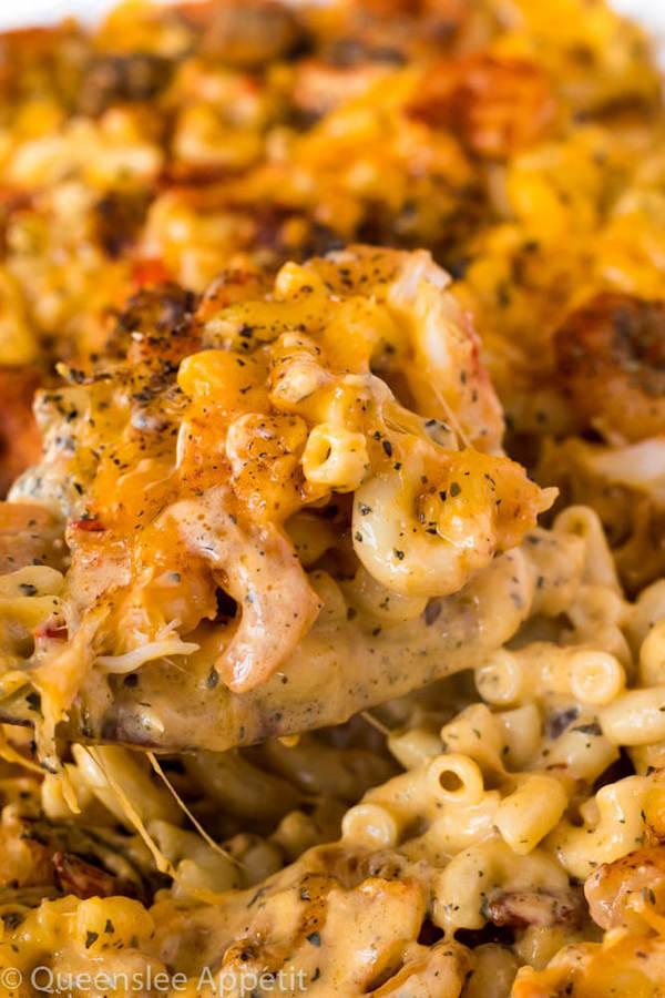 Cajun Shrimp And Crab Mac And Cheese Recipe Queenslee Appetit