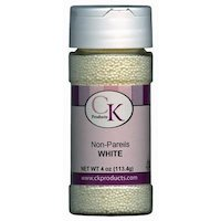CK Products Non-Pareils White, 3.8 Oz.