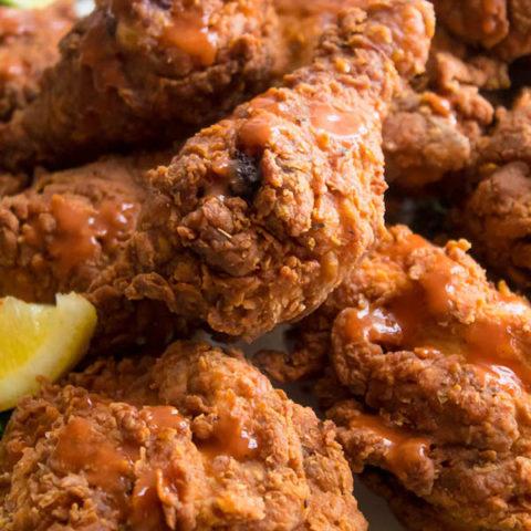 Spicy Buttermilk Fried Chicken