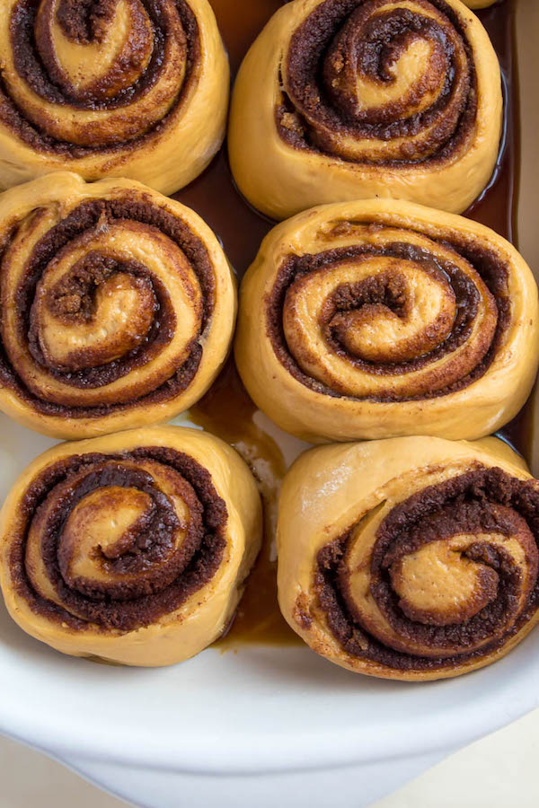 These Coffee Cinnamon Rolls will satisfy all your coffee cravings! They're super soft, fluffy, gooey and full of coffee flavour.
