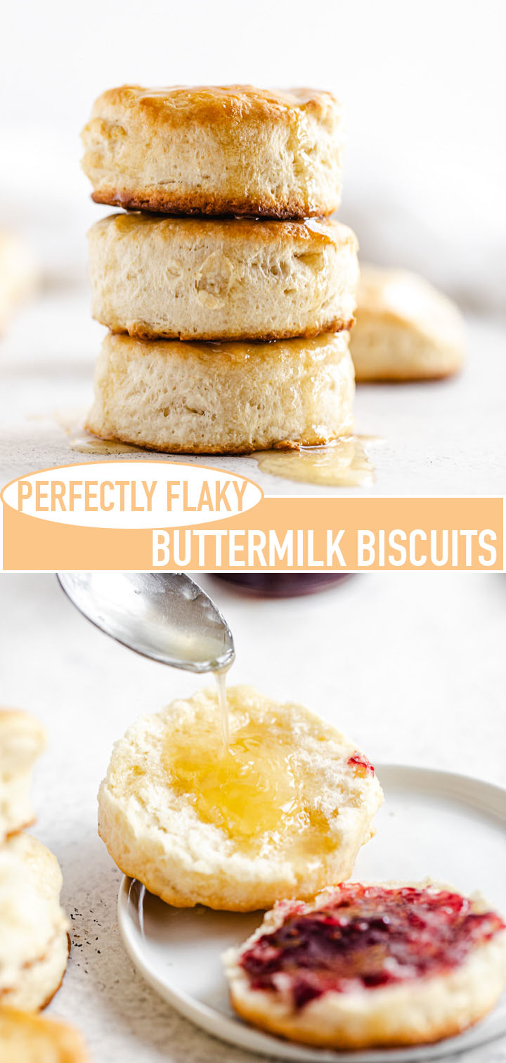 long pin image for flaky biscuits