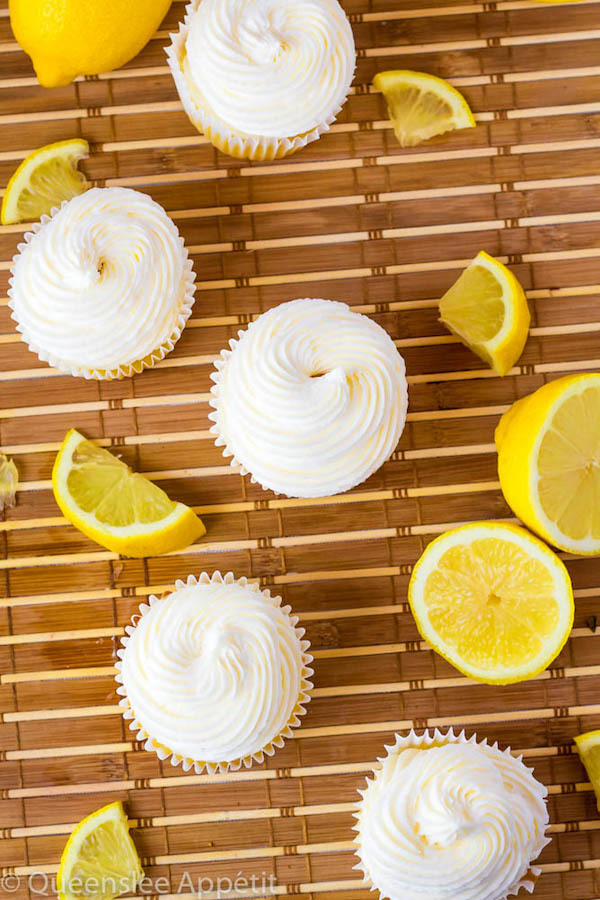 When life gives you lemons, make this Dreamy Lemon Buttercream! This frosting is light, fluffy, creamy and exploding with natural lemon flavour!
