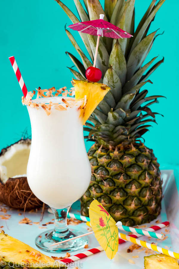 If you like Pina Colada's, you're gonna love thisPiña Colada Milkshake! Deliciously sweet and refreshing, these boozy drinks are made with vanilla ice cream, pineapple chunks, pineapple juice, coconut milk and rum. A fun, summery adult treat!