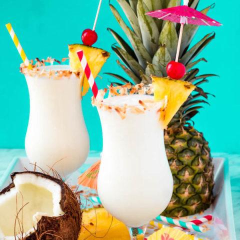 Piña Colada Milkshake