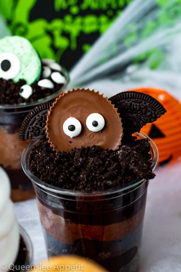 Bat Dirt Cups