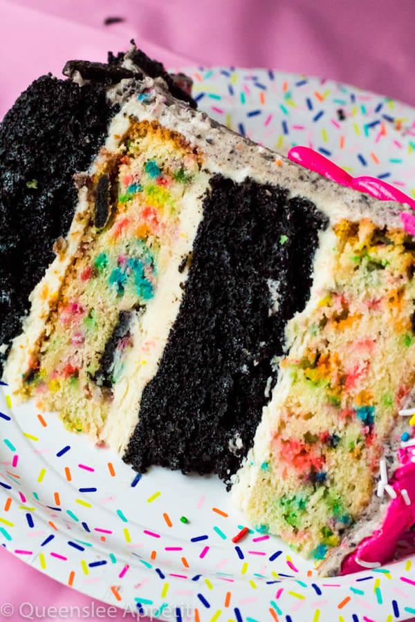 Birthday Cake Oreo Cake
