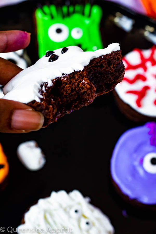 Easy Halloween Brownies