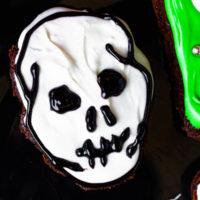 Skull Brownies