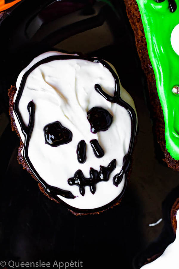 Skull Brownies