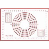 HUELE Silicone Pastry Mat With Measurements,X-Large 23.6''x15.7''