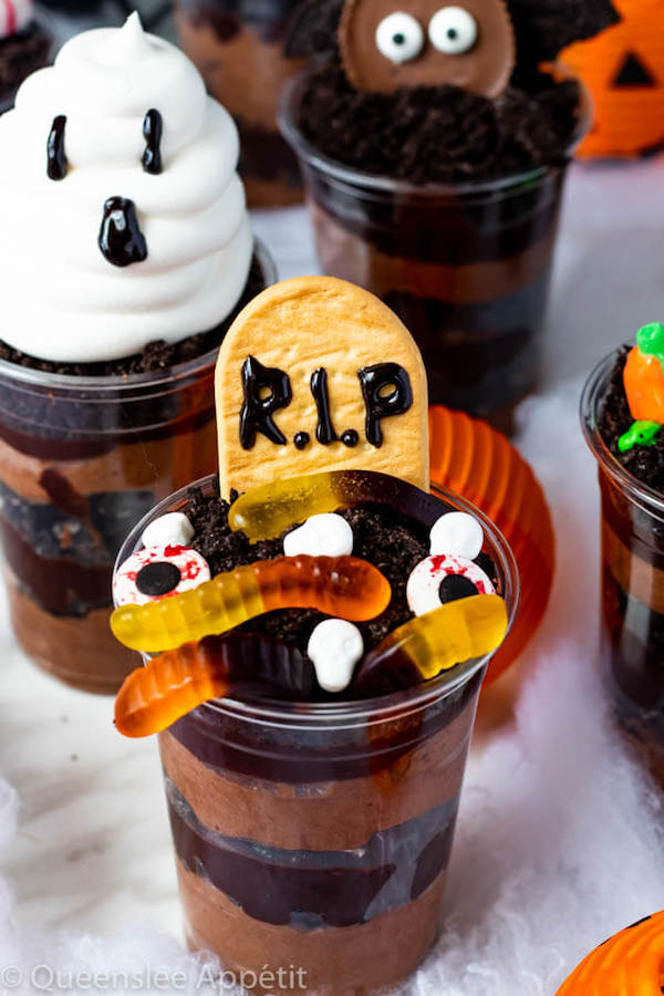 Halloween Dirt Cups Recipe Queenslee App 233 Tit