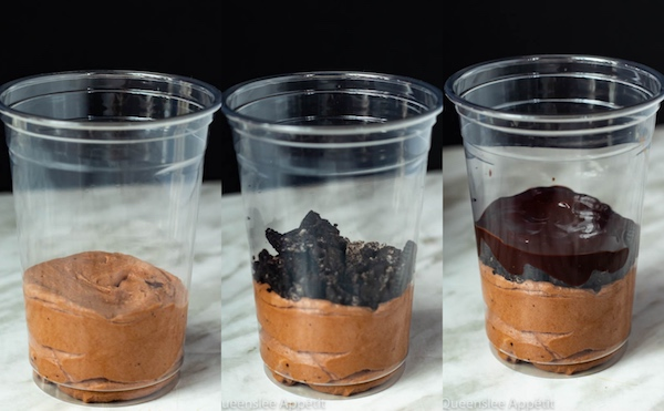 Chocolate Mousse Dirt Cups