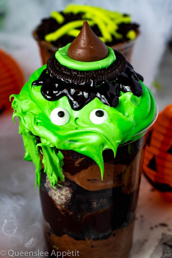 Melting Witch Dirt Cups