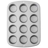 Wilton Recipe Right Muffin Pan, 12-Cup Non-Stick Muffin Pan
