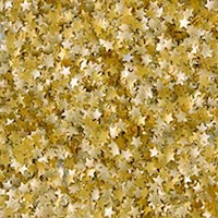 Metallic Edible Gold Stars.15 oz