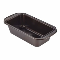 Circulon Nonstick Bakeware 9-Inch x 5-Inch Loaf Pan, Chocolate Brown