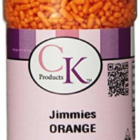 CK Products 3.2 Ounce Orange Jimmies
