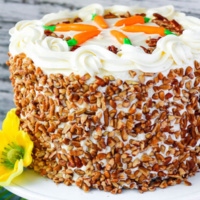 Perfect Carrot Cake with Cream Cheese Frosting