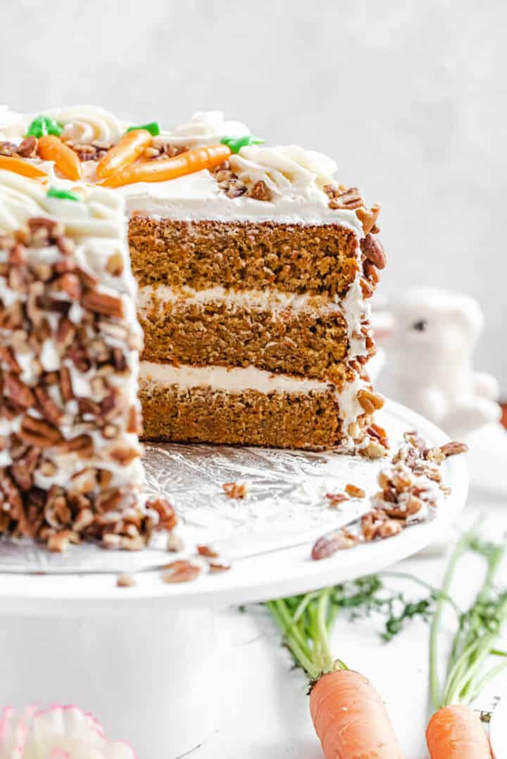 Perfect Carrot Cake With Cream Cheese Frosting Queenslee Appetit