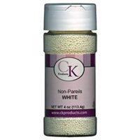 CK Products Non-Pareils White, 3.8 Oz.
