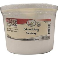 CK Products 77-326 Cake and Icing Shortening Tub, White 3 LBS