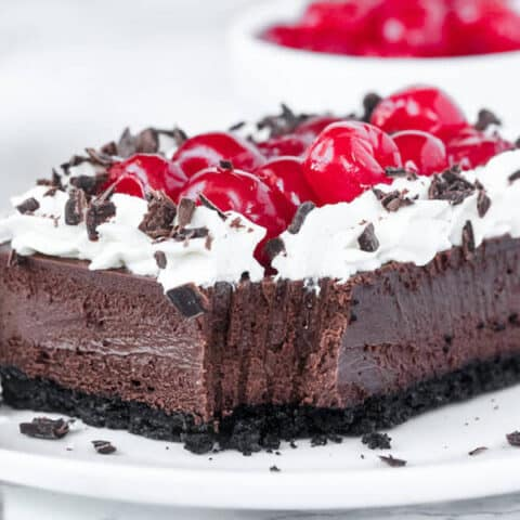 Black Forest Cheesecake Bars