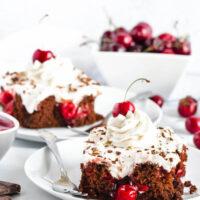 Black Forest Poke Cake