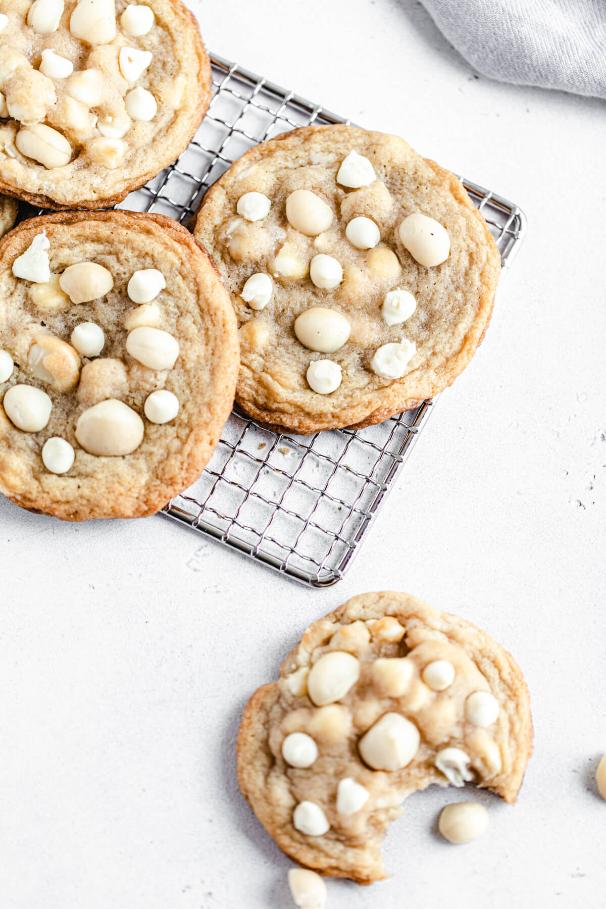 cookies on a safety grater