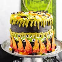 Witch's Cauldron Faultline Cake
