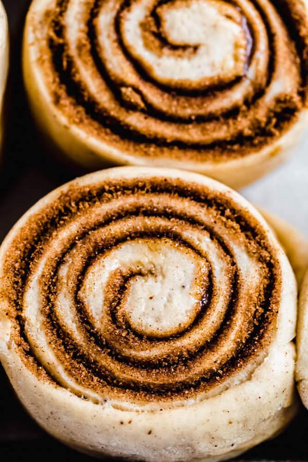 unbaked chai cinnamon rolls