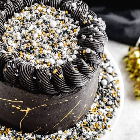 New Year's Eve Party Cake