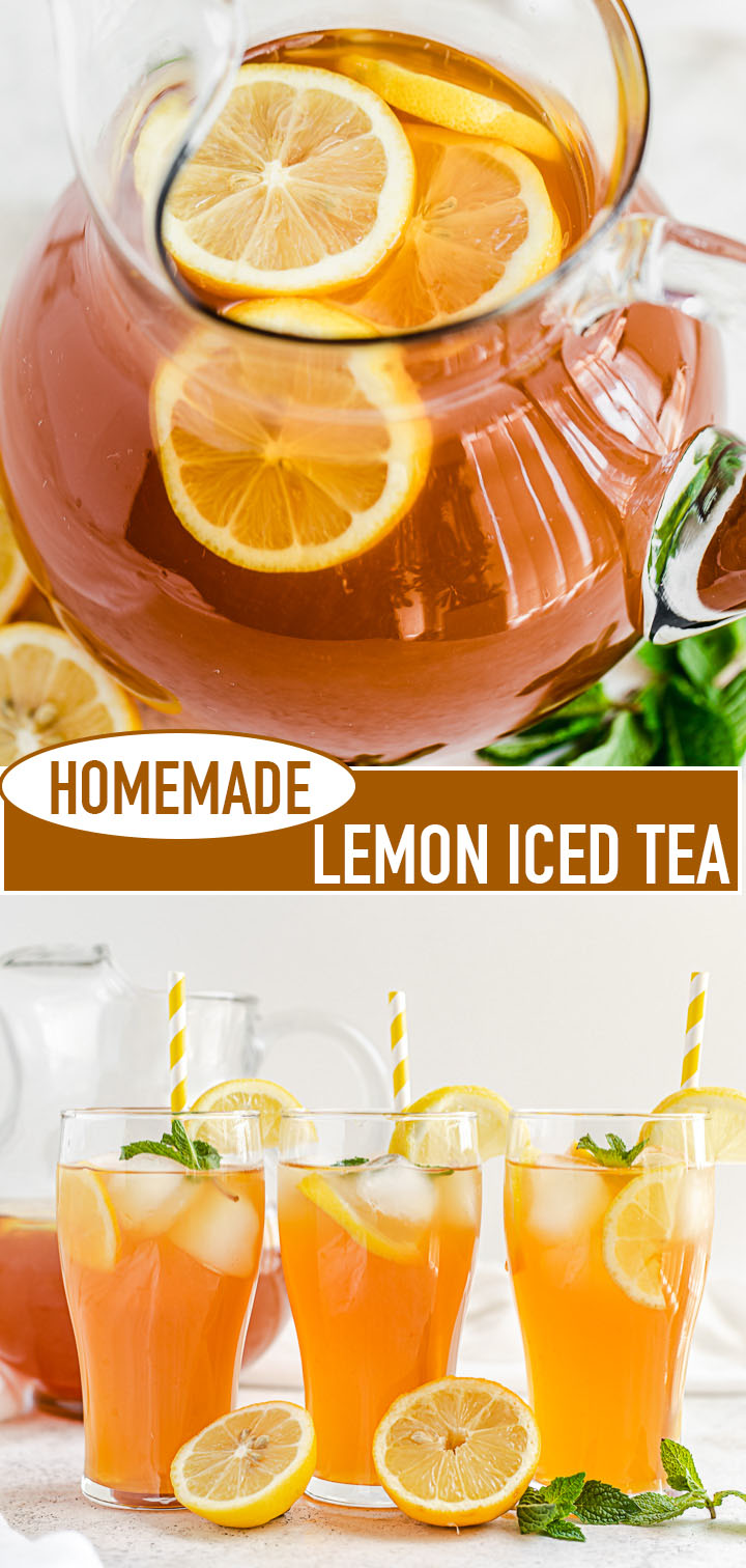 Homemade Lemon Iced Tea Queenslee Appetit