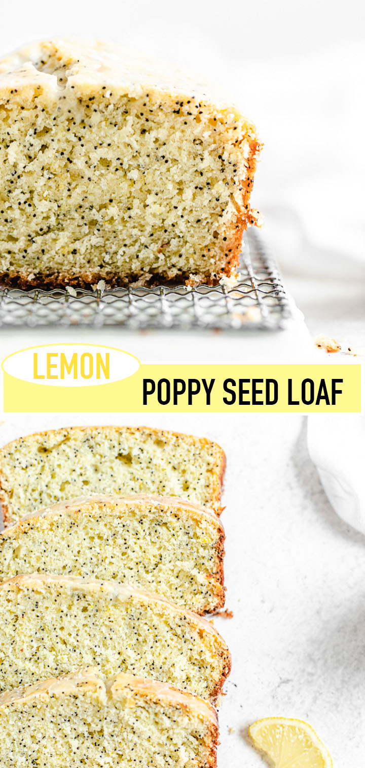 long pin image of loaf with recipe title in the middle