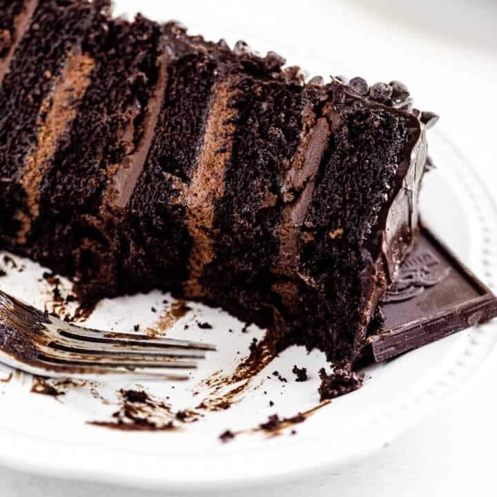 Ultimate 6-Layer Chocolate Fudge Cake