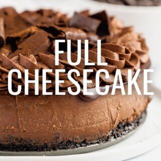 Full Cheesecakes