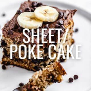 Poke Cakes/Sheet Cakes